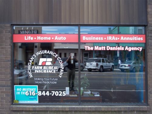Window Decal For Business