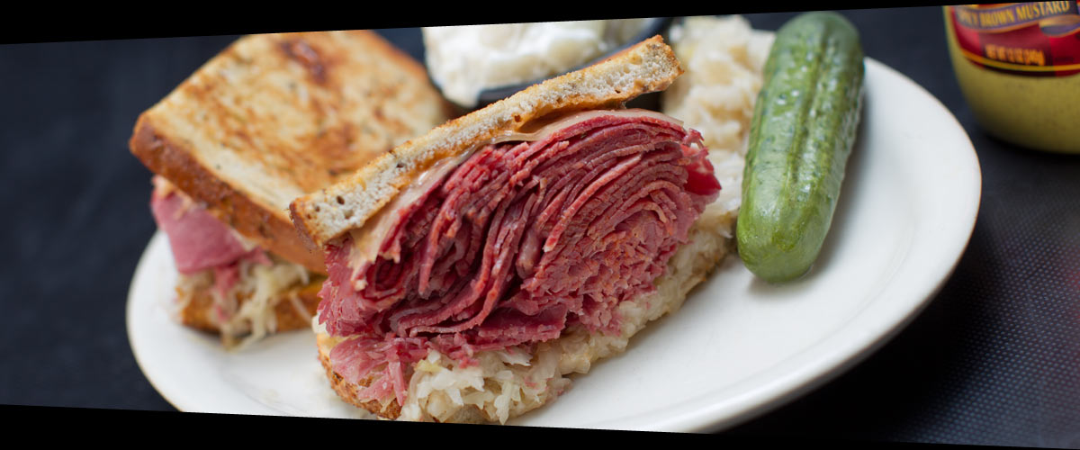 Lester's Reuben the Great sandwich