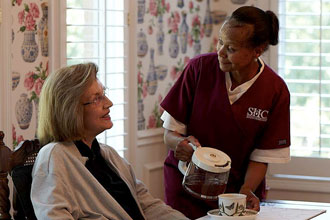 St. Louis Elderly care at home.