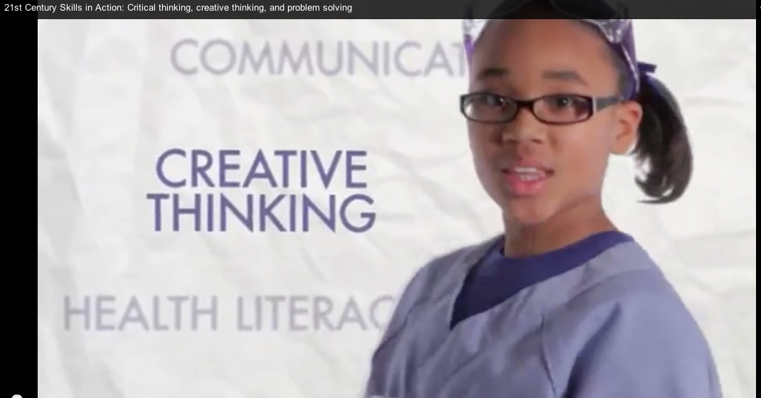 21st Century Skills in Action: Critical thinking, creative thinking and problem solving in the classroom