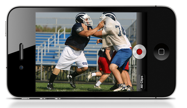 Hudl Mobile iPhone