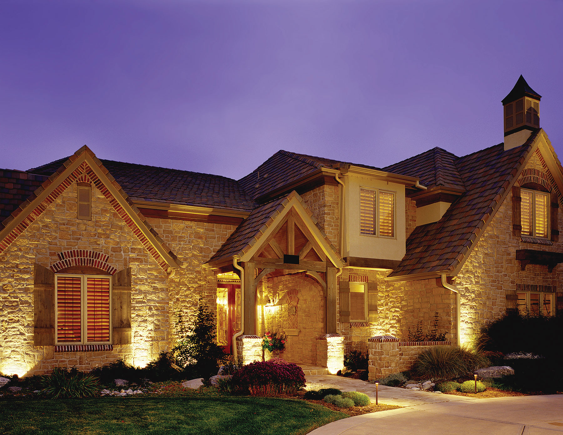 Residential Outdoor Lighting by Outdoor Lighting Perspectives