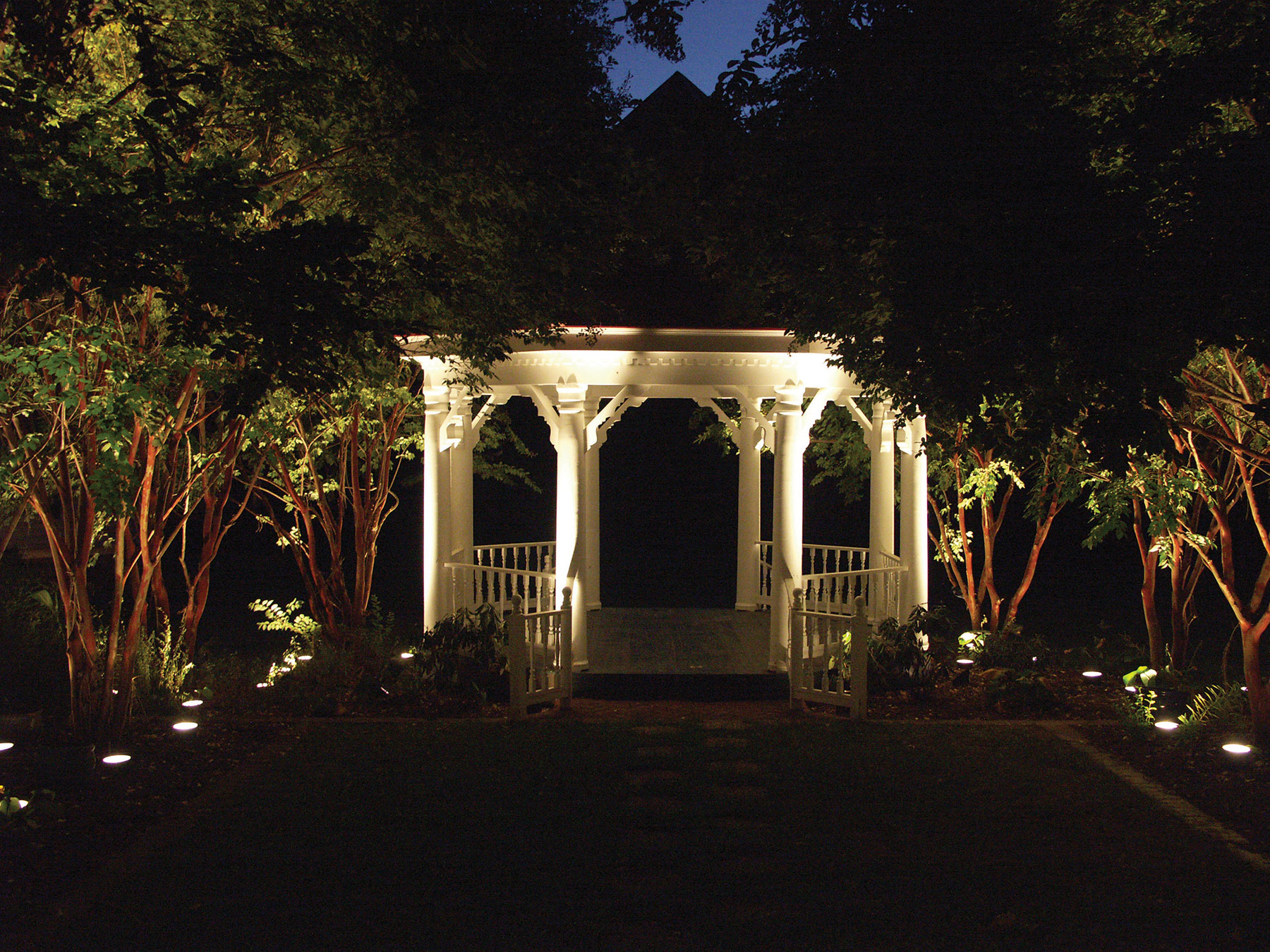 Outdoor and landscape lighting in raleigh nc mozeypictures Choice Image