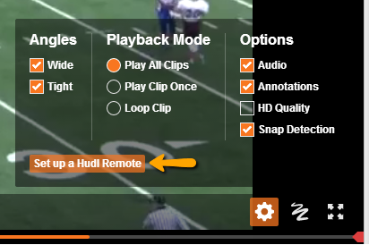 Download Hudl Remote App