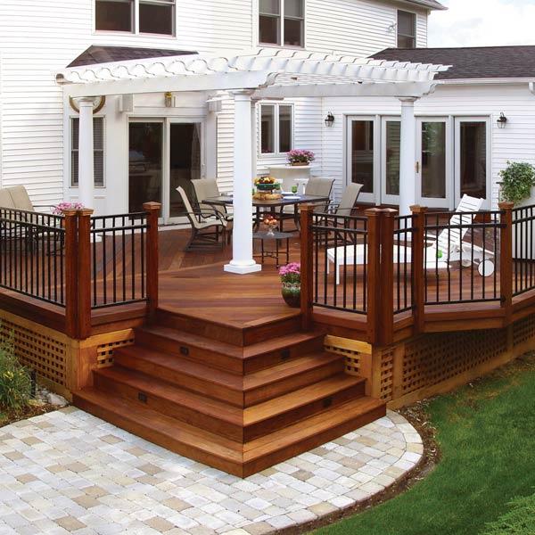 Redwood Deck Replacement Archadeck