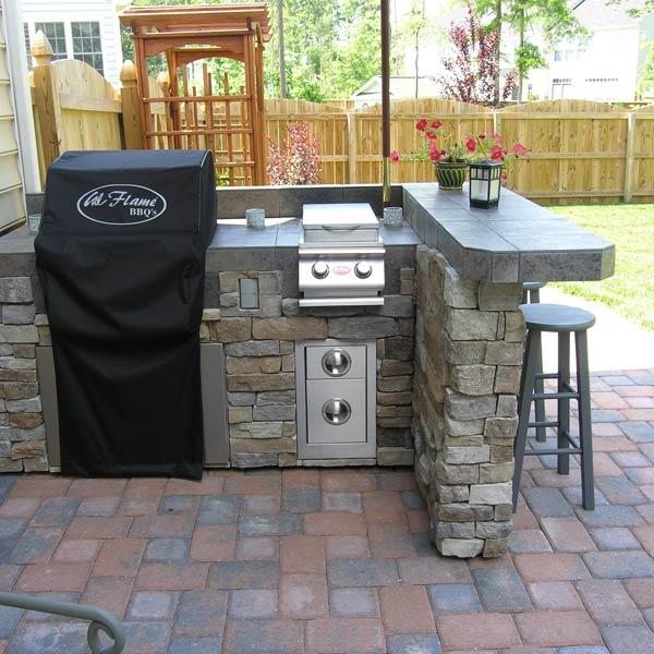Rustic Outdoor Kitchen Design Archadeck Living