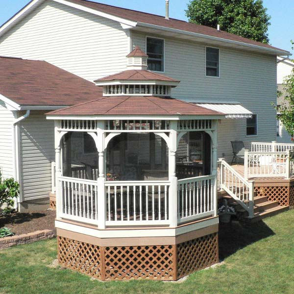 Stand Alone Deck Designs : Stand alone backyard gazebo archadeck outdoor living