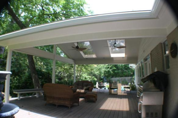 Gorgeous patio covers archadeck outdoor living for Patio extension designs