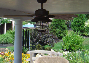 One Of The Features That I Love Under This Deck Is The Ceiling Tongue And  Groove Look Complete With Ceiling Fan.