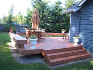 Outstanding Sit And Linger A While Longer With Deck Benches Archadeck Caraccident5 Cool Chair Designs And Ideas Caraccident5Info
