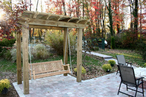 A Pergola Is Structure That Provides Shade The Origin Of Word Comes From Latin Pergula Which Means Projection Or Overhanging Eave