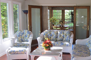 A Drab Deck Turns Into A Fabulous Sunroom In Olathe Kansas