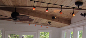 sunroom lighting. Brilliant Sunroom A Drab Deck Turns Into A Fabulous Sunroom In Olathe Kansas For Sunroom Lighting