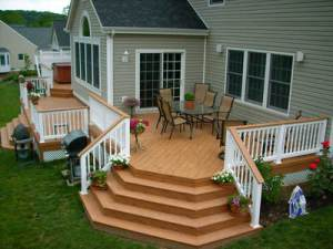 Building A Deck For Example, Can Greatly Increase Your Homeu0027s Value. Some  Research Shows That Up To 75% Of The Deck Cost Can Be Recouped If The Home  Is Sold ...