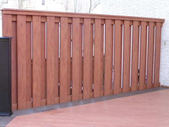 Privacy screens archadeck outdoor living for Wood screen fence