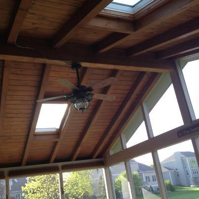 Amazing Screened Porch And Patio Combination In Chicago Area