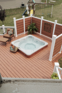 Hot Tub Fence Archadeck Outdoor Living