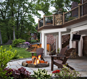 Firepits and Outdoor Fireplaces Most In Demand Outdoor Living Feature | Archadeck Outdoor Living