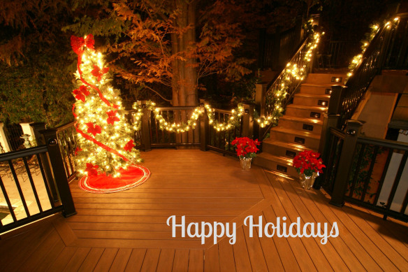 Happy Holidays from Archadeck Outdoor Living | Archadeck Outdoor Living