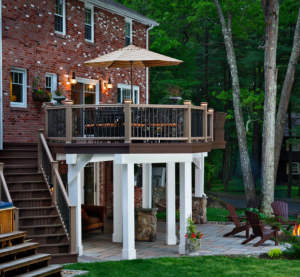 Our Next Example Truly Does Have It All: A Deck, Open Porch, Stone Patio  And Custom Fire Pit. Who Wouldnu0027t Want To Spend Time Outdoors Here?