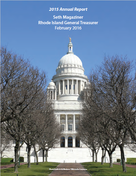 RI Treasury's Annual Report