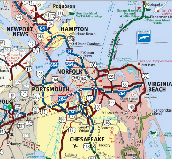 Alexandria To Virginia Beach Distance