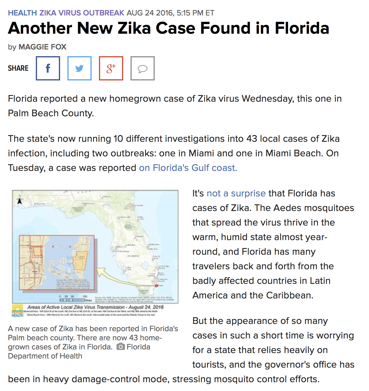 Viral News Update: Zika Virus News And Updates