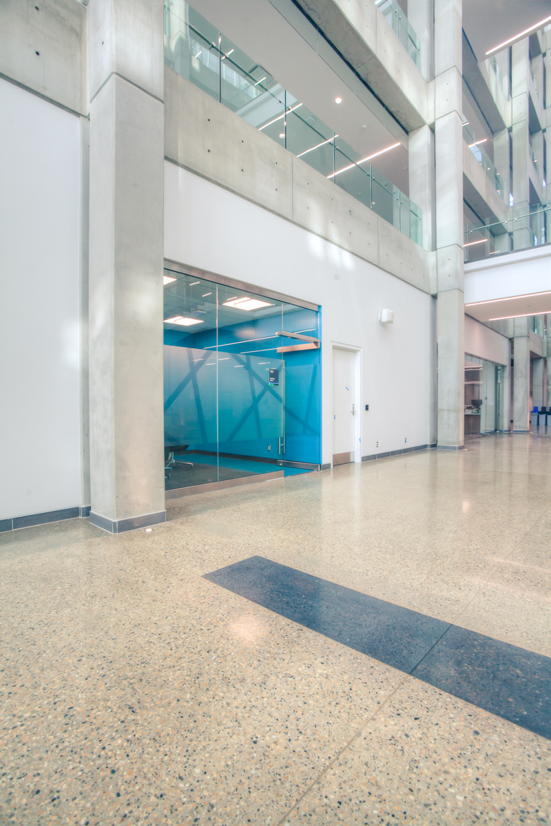 Polished Concrete Floor Deep Grind High Gloss