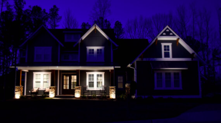 Outdoor lighting perspectives the goal of any architectural and landscape lighting system is to accentuate the property and its architecture colors and textures aloadofball Choice Image