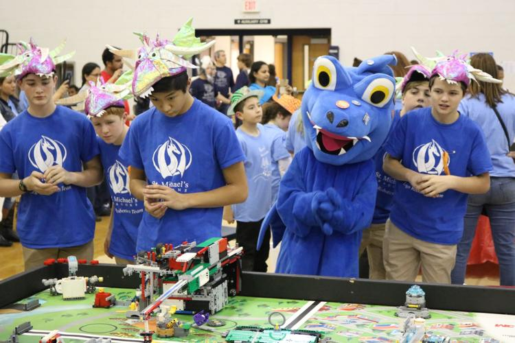 Our award-winning Robotics Team showcased their strategic thinking and technology skills at the FIRST LEGO League state robotics competition.